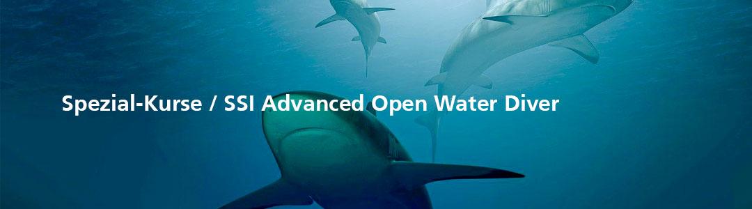 Spezial-Kurse / SSI Advanced Open Water Diver